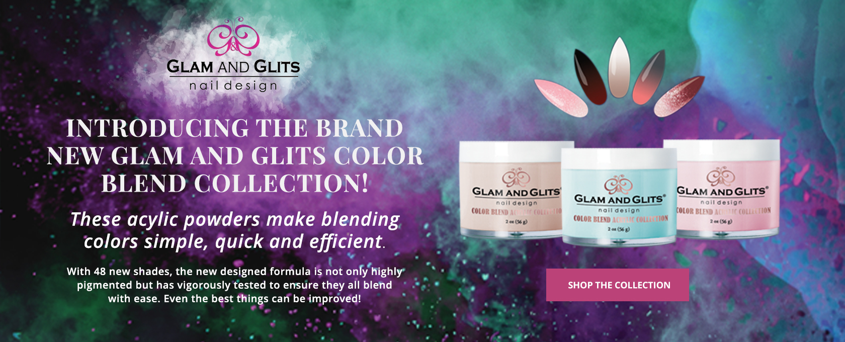 Glam and Glits Blending