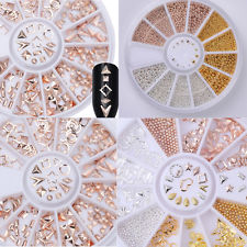 Nail Art Accessories in Wheel